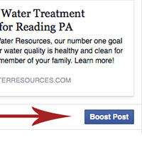 Get some extra page likes from Facebook boosted posts